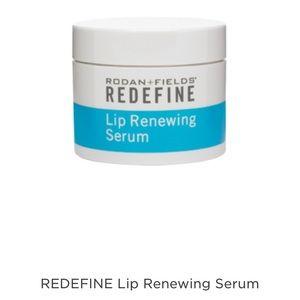 Redefine lip renewing serum from rodan + fields.